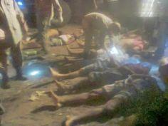 Gilvan da Baixada: DEZ PESSOAS MORRERAM E 12 FICARAM FERIDAS EM ACIDE...