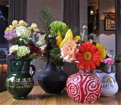 Café Flowers (Photo © C.S. Collins)