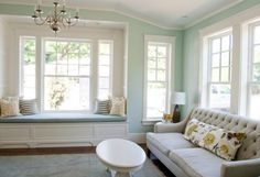 benjamin moore palladian blue is a great cool colour for a south facing or southern exposure room