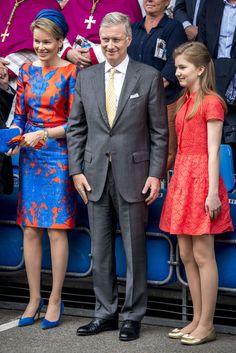 Королевская чета Бельгии с дочерью посетили Kroningsfeesten: ru_royalty