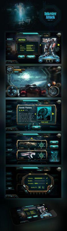 Original works: Fiction Class A mobile game machine -Inkes ...