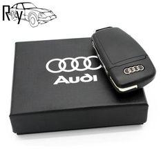Gift Box Pen Drive Creative AUDI Car Key USB 2.0 Flash Drive 8GB Memory