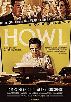 Howl- combining two of my favorite things.  allen ginsberg and james effin franco.