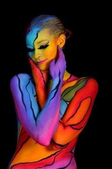 Body paint by Gesine Marwedel