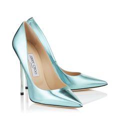 Cool Mint ANOUK Jimmy Choo | Wedding Shoes {something Tiffany blue}