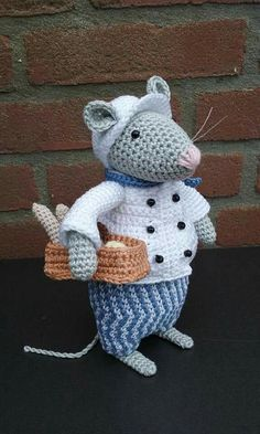 Gehaakte Dickens Muizen Basis Patroon Van Antoinette Crochet