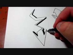 How To Draw Graffiti Arrows