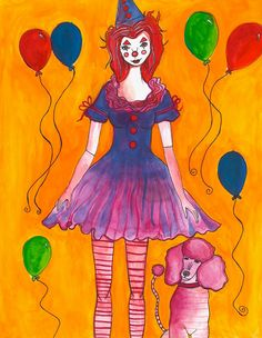 Clown Girl.