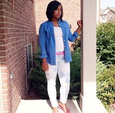 Pink and Blue is one of my favorite color combinations. Follow my Instagram fashion blog @stylesbychay