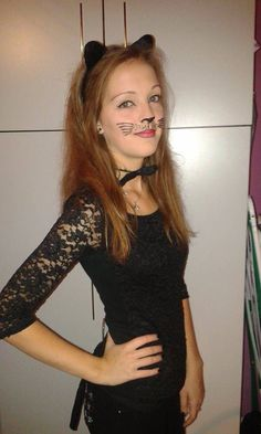 #halloween #cat #costume
