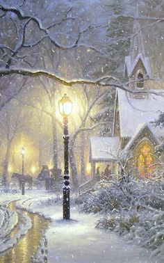 Vintage winter/christmas - Mark Keathley-😍 luv this Victorian Christmas, Vintage Christmas Cards, Christmas Past, Christmas Pictures, Winter Christmas Scenes, Illustration Noel, Christmas Illustration, Illustrations, Winter Scenery