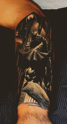 Awesome Batman scene.   Know the artist? Please post if you do. Cheers!