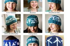 Craftimism: March for Science Knit Designs ebook Knitting Designs, Knitting Patterns, Knitted Hats, Crochet Hats, Science Writing, March For Science, Headbands, Needlework, Beanie