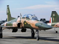 Mexican Air Force 401 Squadron, F-5F 4502
