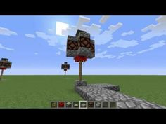 Minecraft   Redstone Street Lamps - http://dancedancenow.com/minecraft-backup/minecraft-redstone-street-lamps/