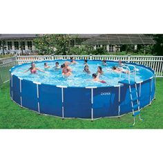 intex 24 x 52 metal frame swimming pool need to get one of these