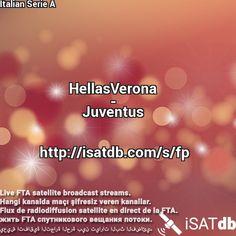 #HellasVerona #Juventus #ItalianSerieA Live FTA satellite broadcast streams. Hangi kanalda maçı şifresiz veren kanallar. Flux de radiodiffusion satellite en direct de la FTA. يعيش اتفاقية التجارة الحرة بين تيارات البث الفضائي. http://isatdb.com/s/fp