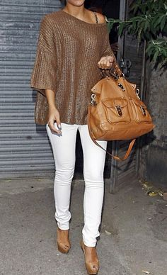 fashforfashion -♛ STYLE INSPIRATIONS♛....love top...purse...etc...pants are a little tight for me