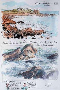 873 - La Bretagne par les contours