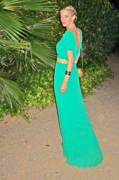 La hora de Teresa Baca - Green Dress