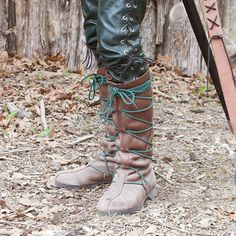 The Peasant Boot, Son of Sandlar Awesome boot when used with natural looking laces.