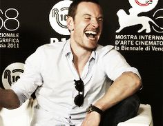 OMG!  HE CAN'T STOP ... BEING THE MOST DAMN ADORABLE MAN.  DAMN.