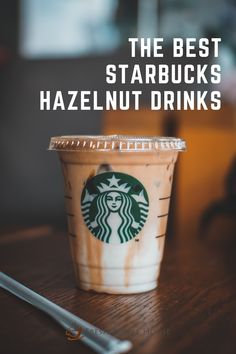 If you're a hazelnut coffee lover, this article will excite you. It extensively outlines the different kinds of hazelnut coffee drinks Starbucks offer, including their composition, taste, nutritional information, plus other essential details you should know about them. #starbucks #coffee Coffee Tasting, Coffee Drinks, Starbucks Specials, Dairy Free Starbucks Drinks, Almond Milk Shakes, Fruit Drinks, Beverages, Matcha Drink