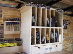 trailer nail gun organizer   by Caddis & Life