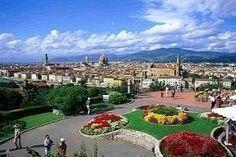 J3 - 1 - Piazza Michelangelo Superbe vue sur Florence