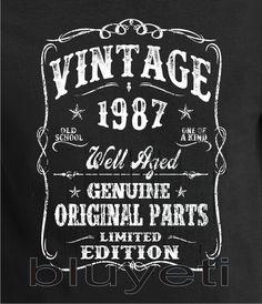 1987 30th Birthday gift Dirty ThirtyTurning 30 30 Years