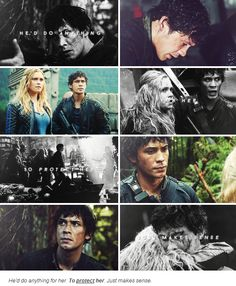 """Octavia, """"Yeah and look at the thanks he got"""" Oh man, if this isn't proof of Bellamy's feelings for Clarke, I don't know what is"""