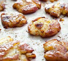 Authentic Crispy Smashed Potatoes, ,