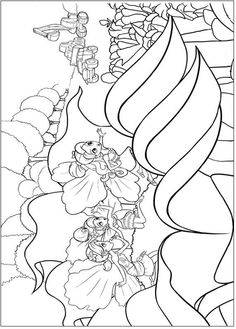 Barbie Thumbelina Coloring Page 1 Is A From BookLet Your Children Express Their Imagination When They Color The