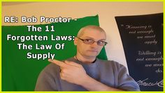 Re: Bob Proctor - The 11 Forgotten Laws: The Law Of Supply  Day 30/62
