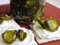 Sugared Jalapenos Recipe Vegan Gluten Free, Vegan Vegetarian, Candied Jalapenos, Jalapeno Recipes, Turnip Greens, Pinterest Recipes, Pickles, Sauces, Appetizers