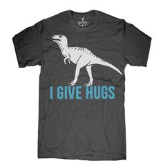 I Give Hugs Tee Men's Asphalt @Jennifer Minami Giusti   (for Tony...LOL)