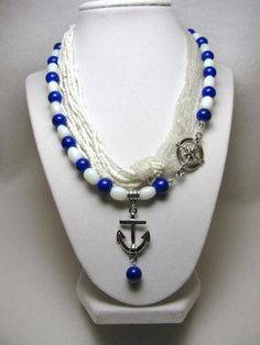 Marina - Jewelry creation by Linda Foust
