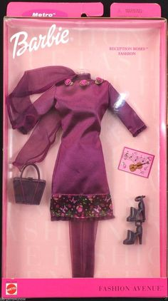 Barbie Fashion Avenue Premiere in New York Outfit for sale online Barbie Doll Set, Beautiful Barbie Dolls, Barbie Dress, Barbie Outfits, Vintage Barbie Clothes, Doll Clothes, Fashion Dolls, Fashion Outfits, Fashion Fashion