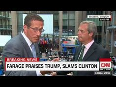 Thought Brexit Leader Destroying Obama Was Bad? Look What He Just Did to Hillary...  Love this man.  Freedom is worth it.  Britain will never be slaves as long as she continues to produce Brits like Nigel.  Down with the elites!