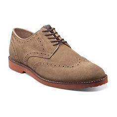 Nunn Bush Depere wing tip dress shoe derby.  Get Free Shipping on Orders Over $75 at NunnBush.