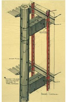 Norman building structure and norman foster on pinterest for Norman foster strutture