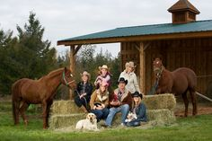 Family Portrait - show off who you are. Here is a family that celebrated their hobby farm with their portrait session. The western theme ties them together, and fits with the horses, cat, dog, chicken and rabbits! Western Family Photos, Fall Family Photos, Fall Photos, Family Pics, Western Photography, Photography Pics, Equine Photography, Family Photography, Fall Pictures