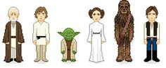 8-Bit Celebrity Caricatures - Very Important Pixels Morphs Pop Culture Icons into Game-Like Avatars (GALLERY)