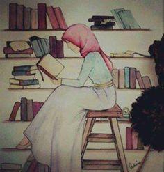 #read#book#hijab