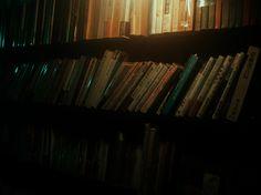 """I'm not good with feelings. ""  #words #quotes #photography #books #street #tokyo #bookstore #night #light #orange #cyan #dark #ahsheegrek"