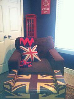 "The ""kid's"" British Invasion Bedroom."