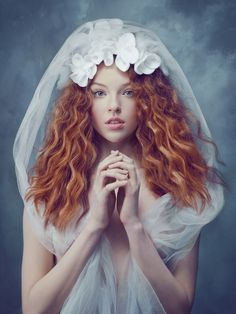 photography, ginger, model, bride