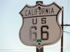 #Route66 road sign in Needles, #California