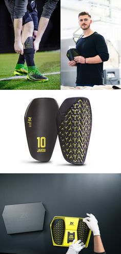 Basic soccer shinguards have one major issue – they're not made to fit the player, they're made to fit the masses. ZWEIKAMPF shin guards are a revolutionary design that combine all the best qualities. Read more at Yanko Design