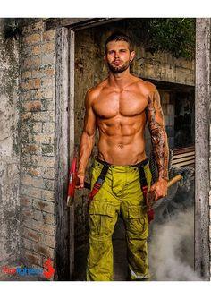 Australian Firefighters Strip For 2015 Calendar Benefiting Children's Hospital - The Gaily Grind